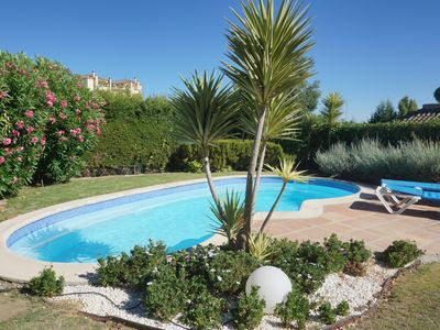 Photo for Delightful Villa - Private Pool & Spacious Garden - San Roque Club, Sotogrande