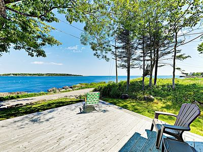 Photo for New Listing! Serene Waterfront Cottage w/ Amazing Views, Firepit & Loft
