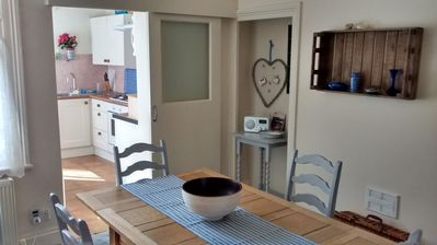 Photo for Spacious maisonette, central Whitby, sleeps 4, close to all amenities