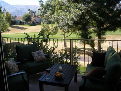 Photo for GU735 - PGA West CC - Updated 2BR/2BA Condo with Golf Course Views Facing West!
