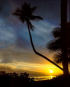 WOW! Fabulous sunset from our private beach at Island Beach Club.
