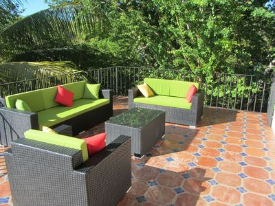 Photo for Amazing quiet one bedroom  hideaway with huge outdoor deck & close to everything
