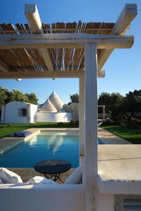 Photo for Fantastic 4 cones Trullo, renewed in very high standard, WiFi, private Pool