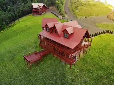 Photo for 5 Large Cabins Combined for Large Events, Corporate Retreats, or Family Reunions
