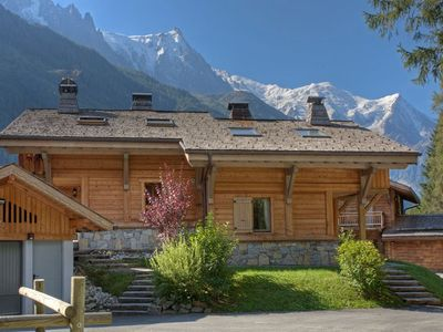 Photo for Chalet Rimaye - 4 bedroom chalet close to Flegere cable car and Chamonix golf