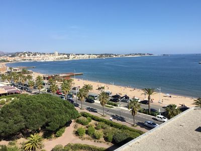 Photo for Frejus beach, superb T3, facing the sea, garage