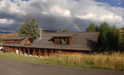 Home at the end of the rainbow - front of house