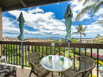 Photo for New Listing! Stunning Ocean Views! Maui Vista 3410