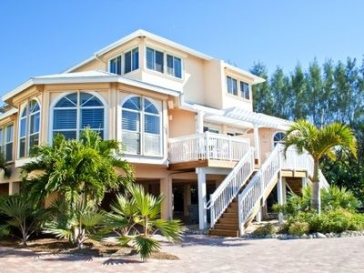 Photo for Captiva Beach Villa Donax - Bay to Beach Luxury