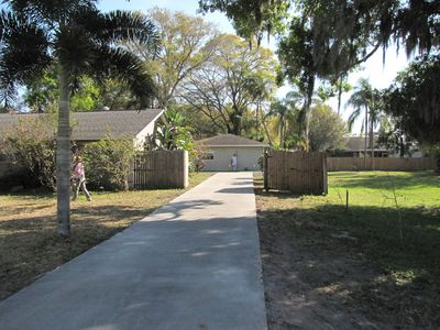Photo for For Golfing Couples Small House Siesta Key Golf Putting Green In The Backyard