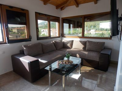 Photo for Villa Nives 1 - Two-Bedroom Apartment Near the Beach with Views