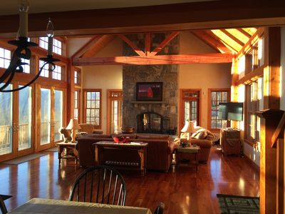 Photo for MANCHESTER HOME - BREATHTAKING VIEWS! LOCATION! GOLF! SKIING! SHOPPING! HOT TUB!