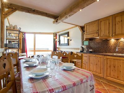 Photo for 3BR Apartment Vacation Rental in Saint-Martin-de-Belleville, Auvergne-Rhône-Alpes