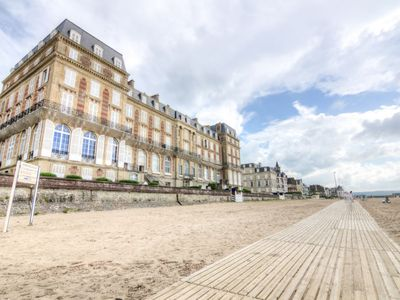 Photo for Apartment Les Roches Noires in Deauville-Trouville - 2 persons, 1 bedrooms