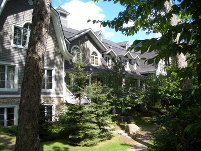 Photo for Les Manoirs - Mont Tremblant Quebec 3 Bedroom Cathedral Ceiling