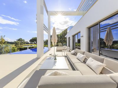 Photo for Quinta Lago, Luxury Villa. 2 Swimming Pools & Spectacular Golf Views (Sleeps 10)