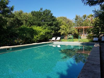 Photo for Peace in the countryside of Menorca with a garden and extraordinary pool