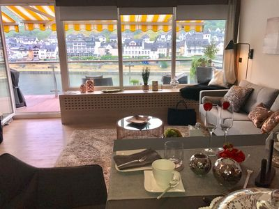 Photo for Moselapart 2 - exclusive penthouse with balcony and Moselle view