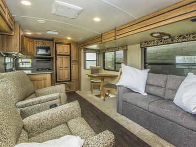 Photo for Luxury Private Dallas RV on Lakeside (Better than Airstream)
