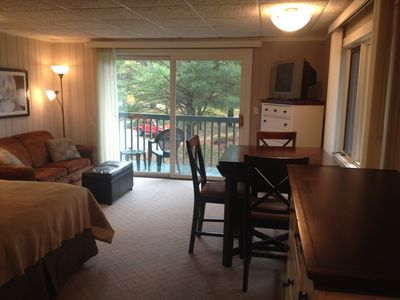 Studio Condo with Queen Bed & Sleeper Sofa - Clean, Comfortable, Affordable!