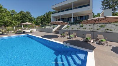 Photo for Beautiful, modern villa with private pool