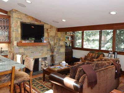 Photo for Luxury 2 bedroom townhouse, only 2 blocks from the Gondola and downtown Aspen. FaschHs5
