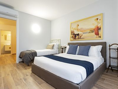 Photo for Flat w/Sauna 6 guest 250mt to Piazza del Popolo