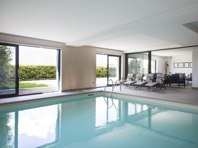 Photo for SUITE POOL & -Como Lake Apptm. 160mt interior with private swimming-pool