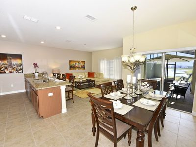 Photo for BEAUTIFUL 4BD HM @STOREY LAKE RSRT w/Pool, 4 Miles to Disney, Central to Universal Studios/Sea World
