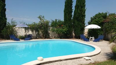 Photo for Traditional farmhouse with 12x6 meter pool & garden, free Wi-Fi