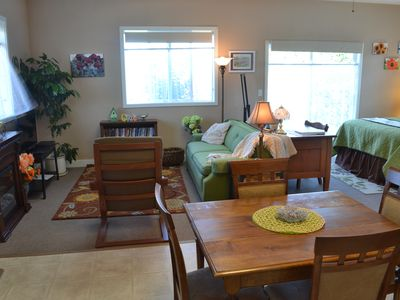 Photo for The Garden Room Sequim Retreat: Affordable Mountain View Studio