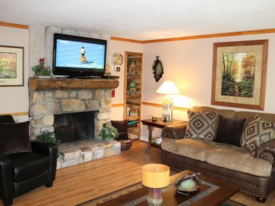 Photo for 3 Bedroom Condo with a Trail to the Slopes