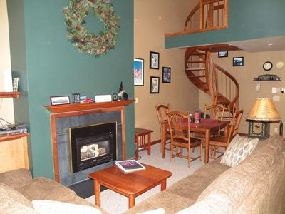 Photo for Sugarloaf Ski-In Ski-Out 1 Bedroom, 2 Bath Sugartree Condo With Mountain Views