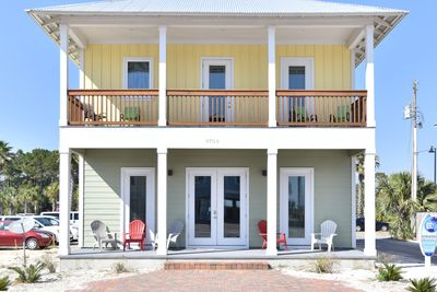 It features a private heated* pool and is just steps from Panama City Beach
