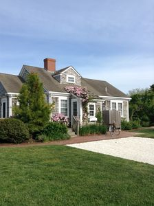 Photo for Rose Covered Nantucket Cottage w/ Pool