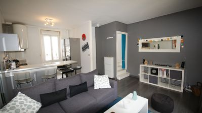 Photo for Duplex in the very center of Dinard