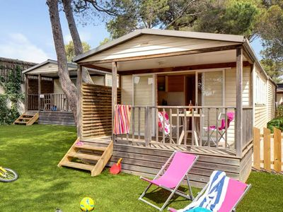 Photo for Camping Holiday Green ***** - Chalet Tendance Sud 3 rooms 4 people