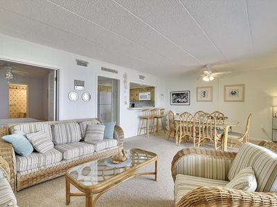 Photo for FREE DAILY ACTIVITIES!!! GORGEOUS OCEAN FRONT VIEW!!! Perfect For a Quiet Getaway in North Ocean City, 3BD And 2 Baths!