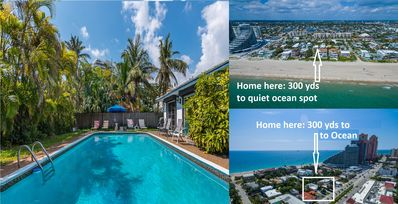 Photo for Ocean Villa: 5 Min Walk to Beaches, 4/2, Gorgeous More Secluded Beach Spot