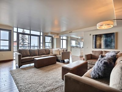 Photo for Luxurious, One-of-a-kind, Ski-in/Ski-out Penthouse Suite with four fireplaces