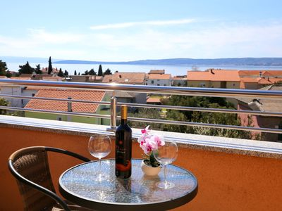 Photo for Superb apartment with wonderful view nearby Split and Trogir