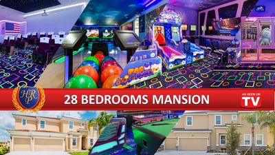 Photo for TWIN MANSIONS!! BOWLING, MOVIE THEATRE, ARCADE GAMES, & MUCH MORE