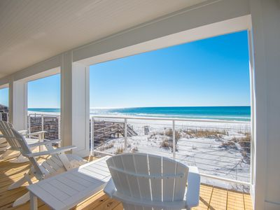 Photo for Gulf Front, Beautifully Remodeled, Dune Allen Beach, Peaceful, Near Restaurants