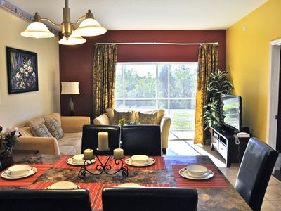 Photo for Super close to Disney, 4BR/3BA 1650 sqft condo with lake view