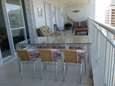Photo for condo club, gourmet balcony with barbecue, 2 parking spaces ..