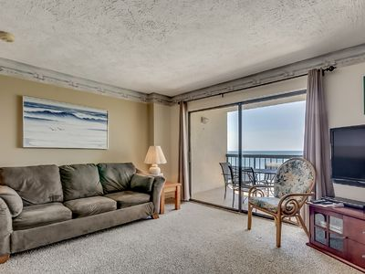 Photo for Crescent Towers I 602, Fabulous Oceanfront 1 Bedroom Condo
