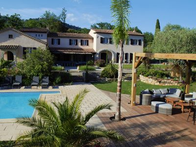 Photo for Exceptional Mas Provençal fully restored near Grasse