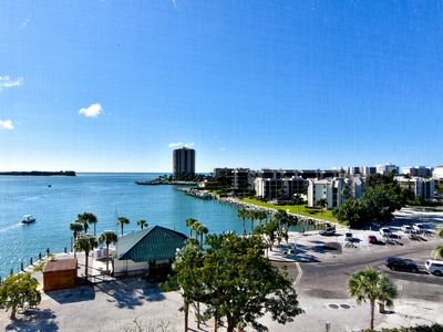 Photo for South-facing waterfront condo w/ stunning views & two heated pools