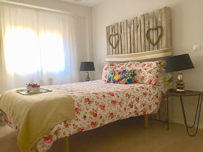 Photo for Piso Princesa. Cozy & bright, 2 bdr flat. Wi-fi. Downtown