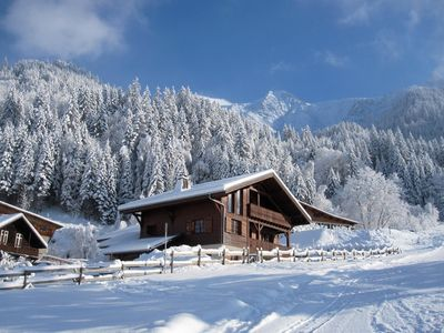 Photo for Luxury 10 Person Chalet Near Slopes in Les Contamines
